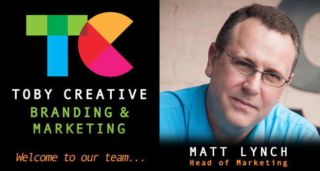 Well known Perth marketing expert Matt Lynch joins Toby Creative as Head of Marketing