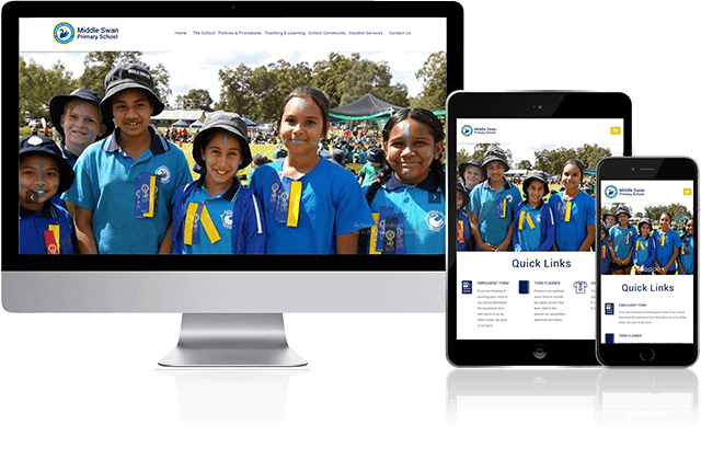 Toby Creative has designed and built the Middle Swan Primary website.