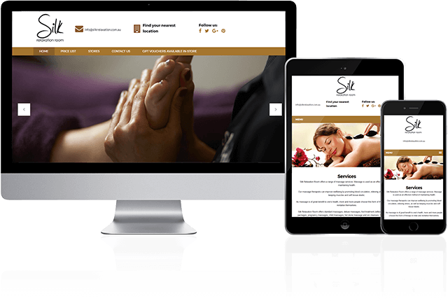 Toby Creative has designed and built the Silk Relaxation Room website.