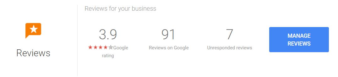 Reviews for your business within Google appear in organic results as well as paid Google AdWords and Google Maps search.
