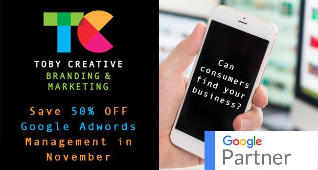Save 50% OFF Google Adwords Management