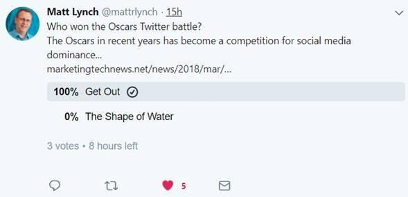 How to run a poll on Twitter - Preview